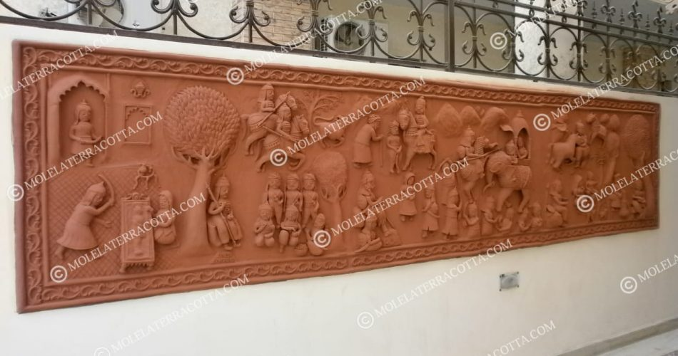 Adorable Terracotta Wall Hanging | Terracotta Wall Murals